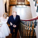 Hochzeit Brautvater Treppen Braut Dieburg