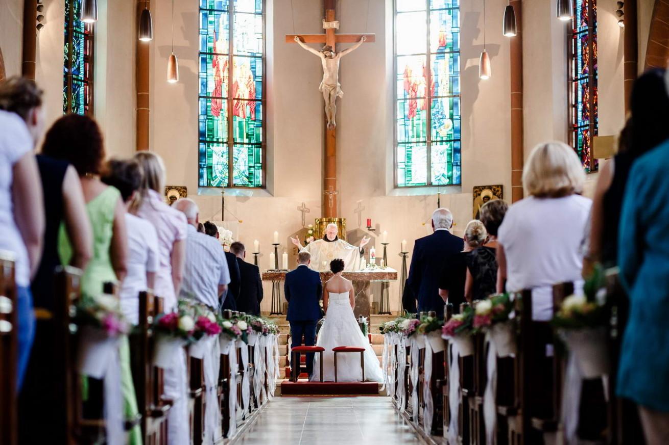 Hochzeit katholischer Pfarrer Segen Fotograf