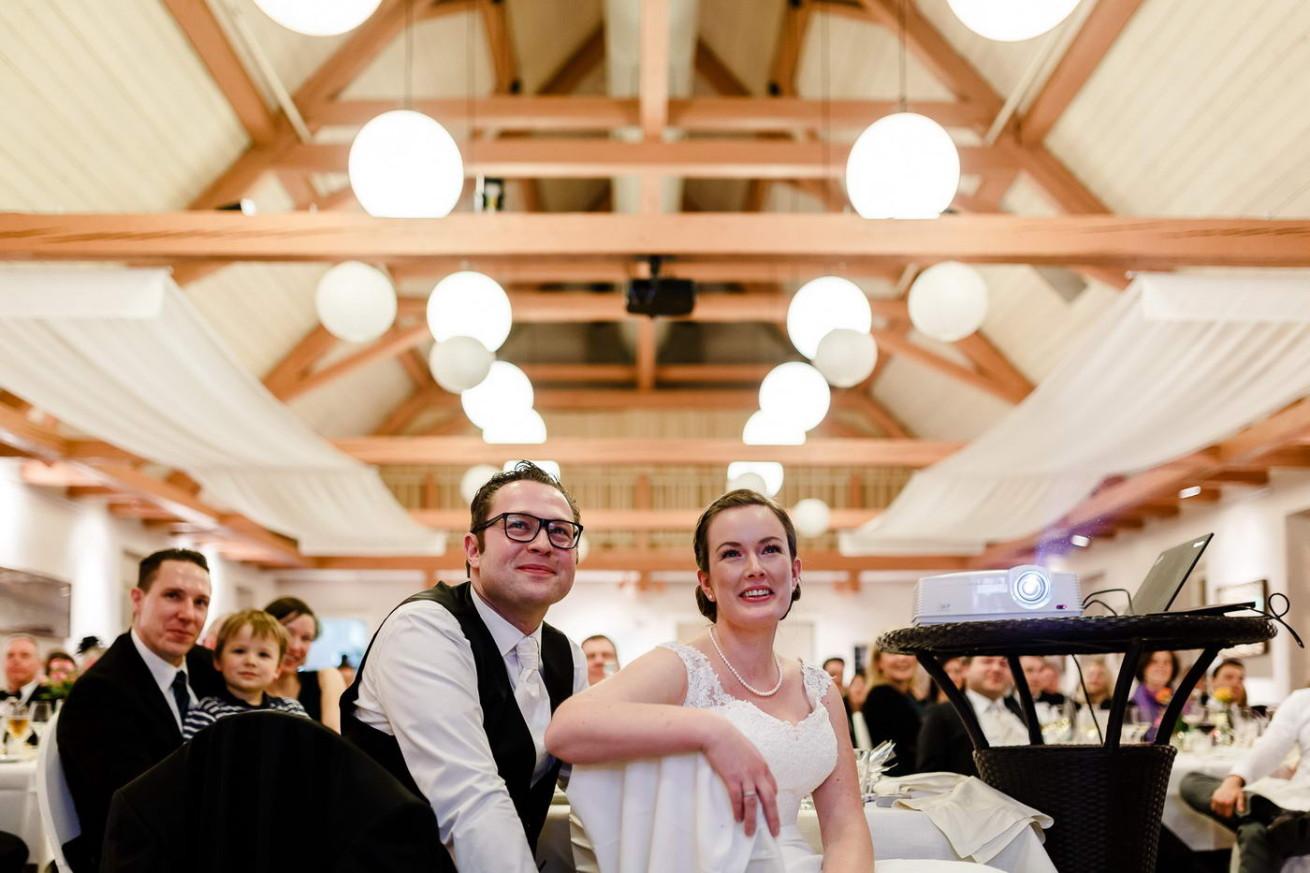 Reportage Hochzeit Brautpaar Film