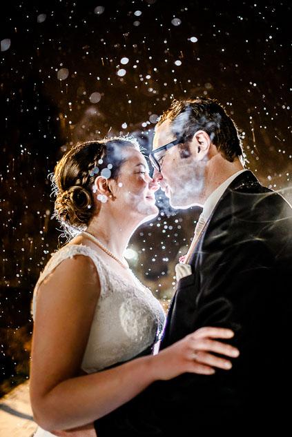 Hochzeit Schnee Winter