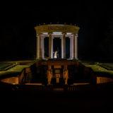 Hochzeitsbilder nachts im Kurpark Bad Homburg