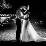 Hochzeitsfotograf Dragonerbau Langenselbold Hochzeitsfoto nachts