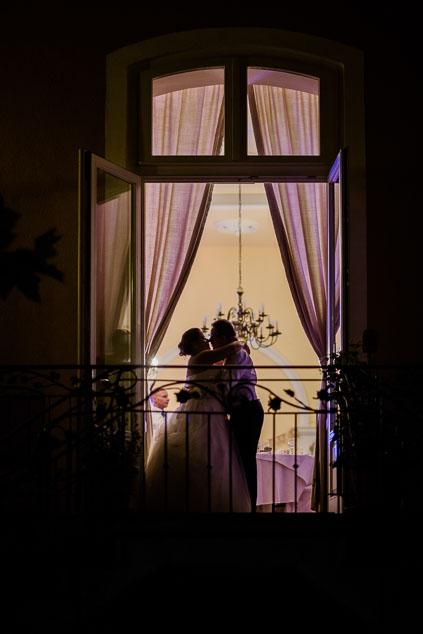 Hochzeitsfotos Eltville Rheingau nachts Hochzeitsfeier Hotel Frankenbach